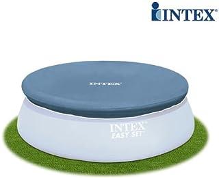 Cubierta para piscina Easy Set Intex 244 cm lona de PVC agua limpia Pool 280209