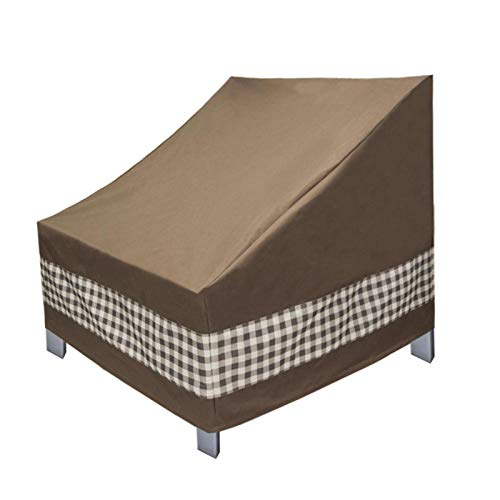 Coil-c Patio - Funda impermeable para silla de exterior, resistente al agua, para jardín, porche, césped