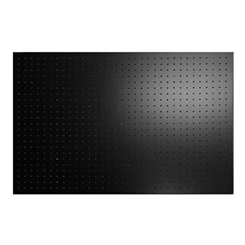 有孔ボード黒1/3サイズ(4ミリ厚x横900ミリ×縦600ミリ)穴径5ミリ穴ピッチ25ミリ 1枚入り