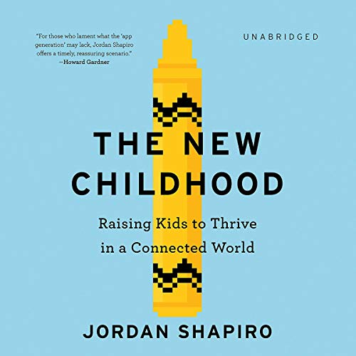 The New Childhood audiobook cover art