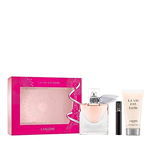 Lancôme La Vie Est Belle - Set di fragranze (eau de parfum, lozione per il corpo, mascara), 82 ml