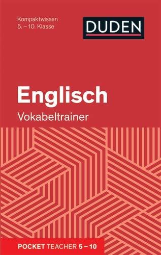 Pocket Teacher Englisch - Vokabeltrainer 5.-10. Klasse: Kompaktwissen 5.-10. Klasse