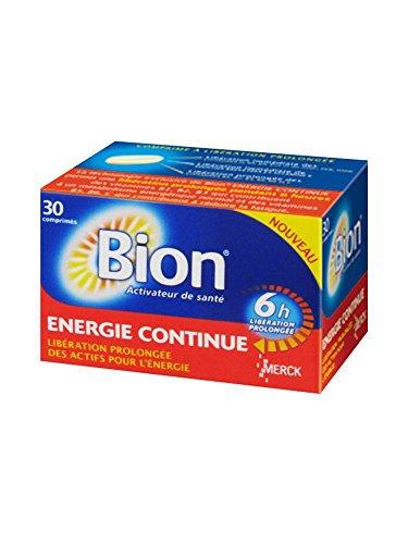 Merck Bion Energie Long-Lasting Energy 30 Tablets