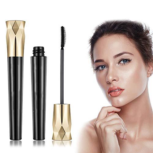 BHUJYG 4D Fibre Silk Cils Mascara ou Liquide Eyeliner Quick Dry épais Allongement Extension étanche
