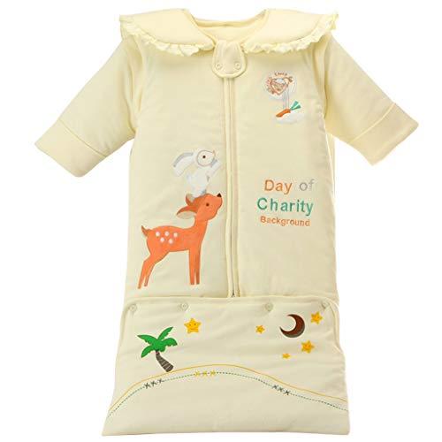 Baby slaapzak met capuchon mouwen afneembaar - kinderen 3 tog hele jaar slaapzak 0-3 jaar 110 cm H