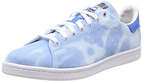 Adidas PW Hu Holi Stan Smith, Zapatillas de Deporte para Hombre, Blanco (Ftwbla/Azul 000), 38 2/3 EU