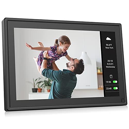 BSIMB Smart WiFi Digital Picture Frame 10.1 Inch Digital Photo Frame WiFi 1280x800...