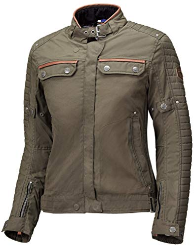 Held Bailey Damen Motorrad Textiljacke Khaki L