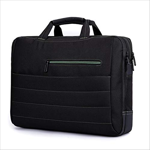 RZL Pad y Tab Fundas para MacBook 15 17 15.6 Pulgadas, Hombres Impermeable Nylon Capacidad de Gran Capacidad Bolsos de Laptop Bolso de Mano para Xiaomi Lenovo DELL