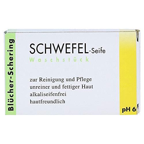 Blücher-Schering Schwefel-Seife Waschstück, 1 St. Seifenstück