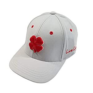 ed24b540d9d6c Amazon.com  Black Clover Brand Premium Clover USA Luck  4 Grey L XL Flexfit  Hat  Clothing