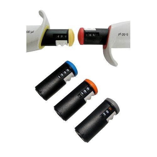 Capp-regelaar voor pipetten, variabel volume, 30-200ul, 1