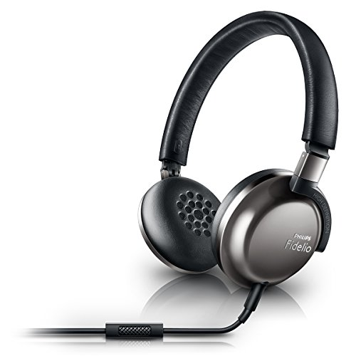Philips Fidelio Fidelio F1/27 Mobiles Headset Binaural Kopfband Schwarz, Grau Verkabelt - Mobile Headsets (Verkabelt, Kopfband, Binaural, Ohraufliegend, 7-27000 Hz, Schwarz, Grau)