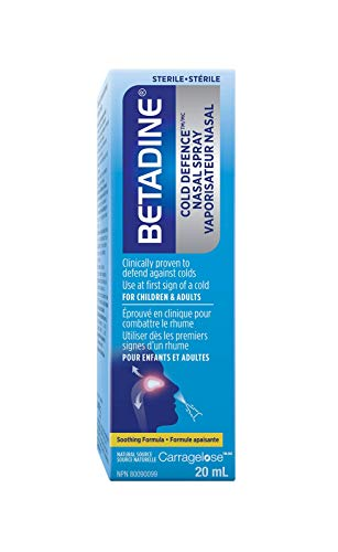 BETADINE Cold Defence NASPAL Spray …