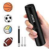 Suntapower Automatic Electric Ball Pump, Battery Powered Air Pump with Needles for Sport Balls, Basketball...
