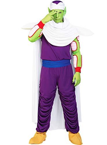 Funidelia | Disfraz de Piccolo - Dragon Ball Oficial para Hombre Talla XL ▶ Bola de Dragón, Manga, Saiyan, Kame Hame Ha - Morado