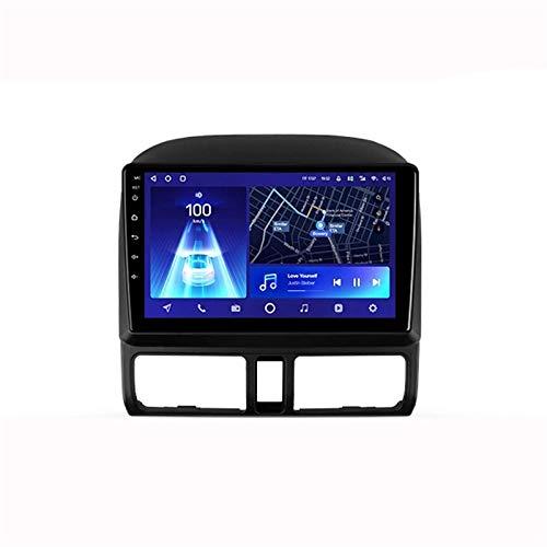 Android 10.0 Autoradio Sat Nav Radio per Honda CRV 2 2001-2006 Navigazione GPS 9 '' Unità principale Touchscreen MP5 Lettore multimediale Ricevitore video con 4G WiFi SWC Carplay