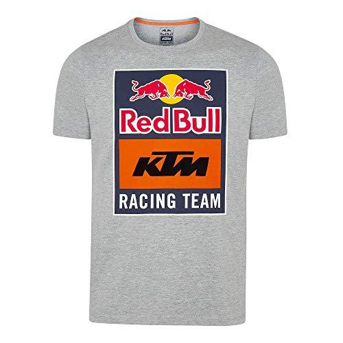 Red Bull KTM Emblem T-Camisa, Gris Hombres XX-Large Camisa Manga Larga, KTM Racing Team Original Ropa & Accesorios
