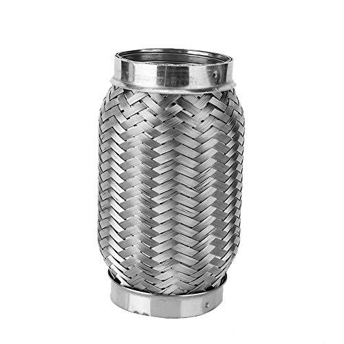 Auto-uitlaatpijp, roestvrij staal flexibele uitlaat Stub interne gegolfde buis 2.5in x 6in