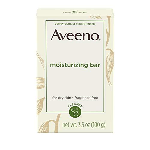 Aveeno Moisturizing Bar For Dry Skin, 3.5 Oz