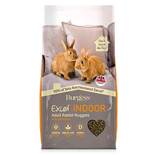 Excel Burgess Indoor Rabbit Nuggets, 10 kg