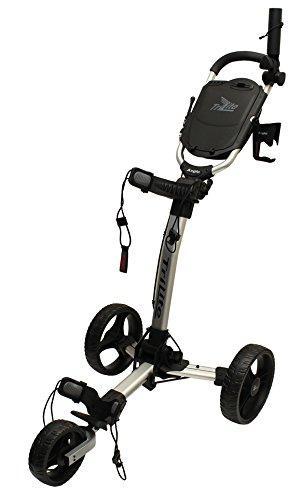 Axglo Trilite Chariot de Golf Mixte Adulte, Gris/Noir, Taille Unique