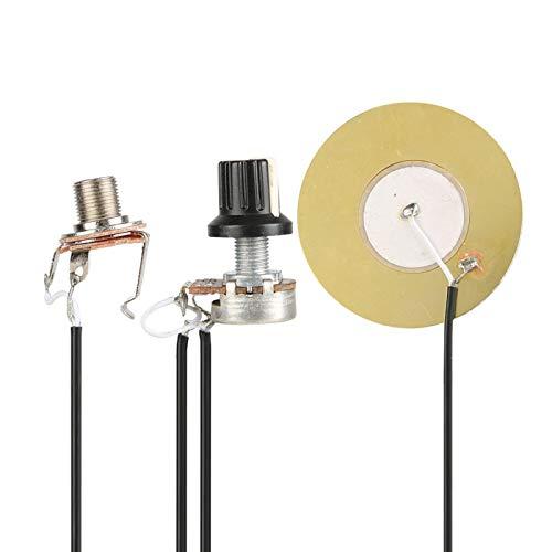 Pastilla de transductor piezoeléctrico profesional para guitarra eléctrica u otras piezas de...