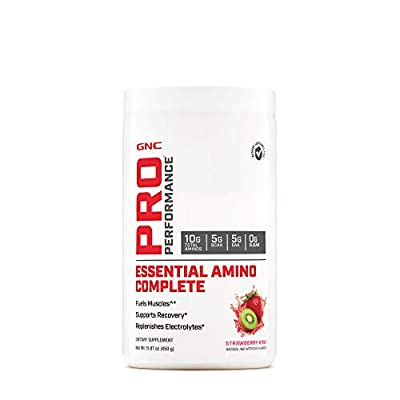 GNC Pro Performance Essential Amino Complete, Strawberry Kiwi, 15.87 oz, Supports Muscle Recovery