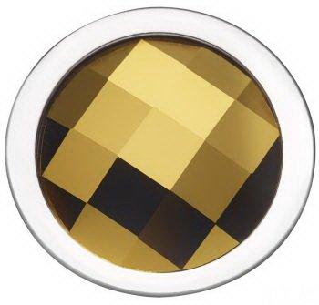 Pavo Real Diam 18mm Circle dorade-Gold polised