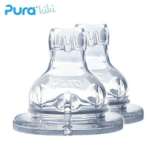 Pura Kiki - XL Trinklernaufsatz aus Silikon (2 Stück)