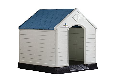 Confidence Pet Plastic Dog Kennel Outdoor Winter House (Medium)