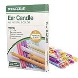 32 velas para los oídos, velas para los oídos, removedor de cera para los oídos, conos de cera de...