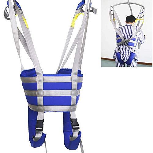 XIAORANA Patientenlifter Sling Treppenrutsche Transfergurt Lagergewicht 507 Lb, mit Toilettenschlinge Design Mit Geteiltem Bein, Für Krankenpflege, ältere Menschen, Behinderte
