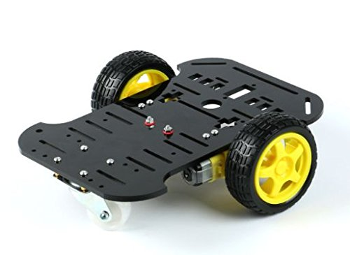 2wd smart car chassis plattform