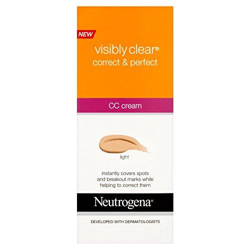 Neutrogena Visibly Clear® Correct & Perfect CC Cream, hell
