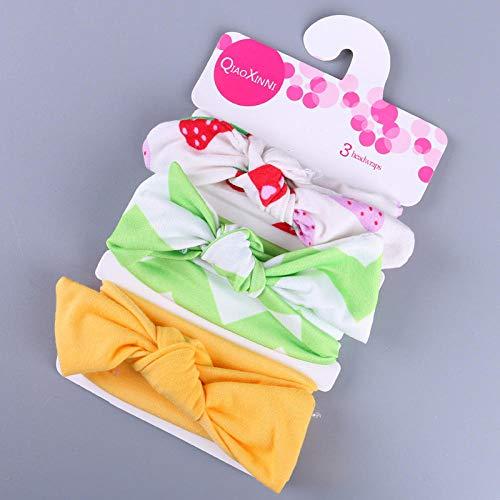 AliExpress Ebay - Diadema para el pelo con lazo para bebé (algodón, accesorios para el pelo)