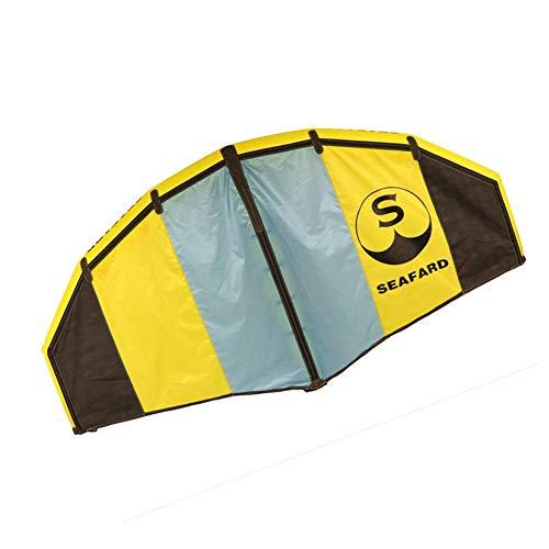 XYZZ Kiteboarding Inflable portátil, ala de Parapente Kitesurfing Kite de Entrenamiento, Tela de poliéster Ligera y Duradera, Prueba de Fugas y fácil de almacenar