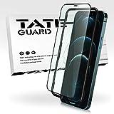 TATE GUARD Phone 12/12 Pro用 ガラスフィルム【アンチグレア&ブルーライトカット】ゲーマー向き 指紋防止 Phone 12に適合する強化ガラスフィルム Phone 12 proに適合する