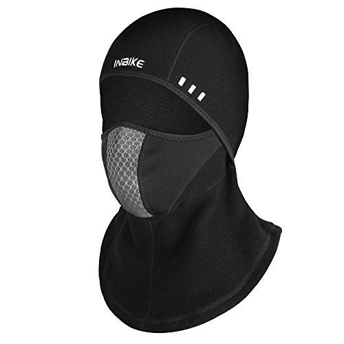 INBIKE Balaclava Ski mask Snow Mask for Men Running Face Mask (Mesh + Polar Fleece) 2