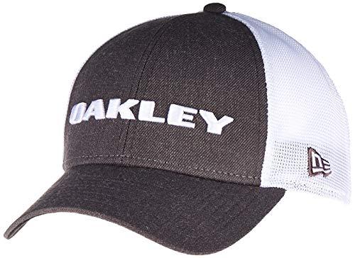 Oakley Men's Standard Heather New Era Hat, Graphite, One Siz
