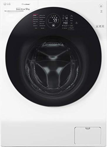 LG FH4G1BCS2 wasmachine voorlader 12 kg 1400 rpm A+++-60% blauw, wit - wasmachine (lader, blauw, wit, aanraking, links, LED)