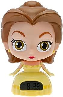 BulbBotz Disney Princess 'Belle' 7.5 in Light-up Alarm Clock