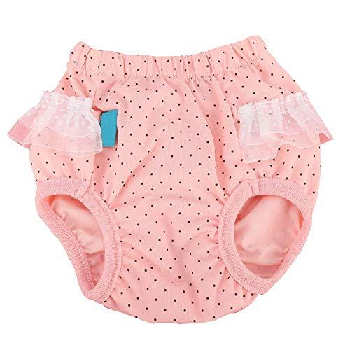 Huisdier sanitair broek, anti-intimidatie menstruatie ondergoed shorts luier ondergoed voor hond puppy's (L)