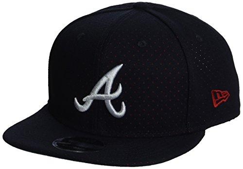 New Era Herren Snapback 9FIFTY Color Peek Atlanta Braves MLB Cap, Blau