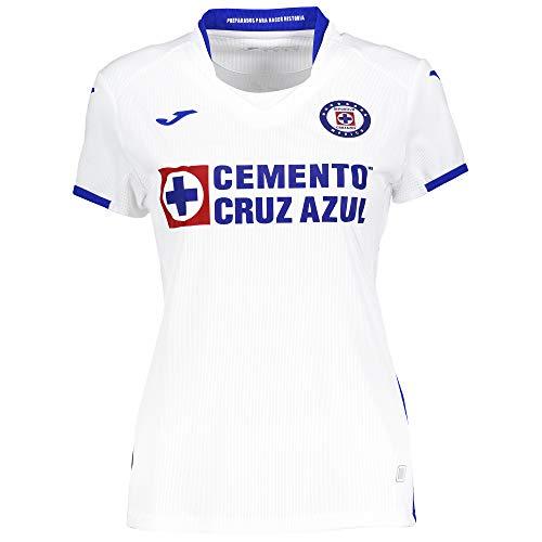 Joma 2ª Camiseta Cruz Azul M/C Mujer, S, Blanco