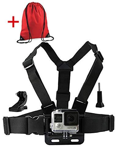 LONDON FAB Arneses para cámaras de acción, compatibles con GoPro y Todas Las cámaras de acción