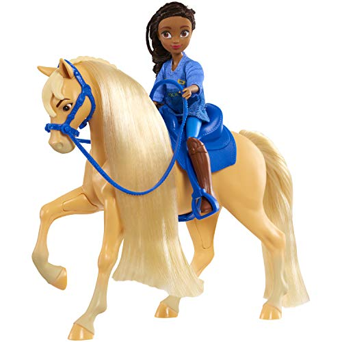 DreamWorks Spirit Riding Free Spirit Collector Doll & Horse - PRU/Chica, 5 inches, Multicolor, Model:39247