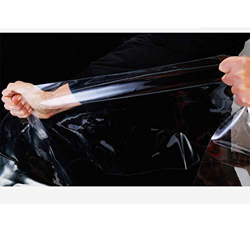 BGSFF Lona Grande Resistente, Lonas, Lonas Transparentes de PVC Lona Gruesa Resistente al desgarro de 0,3 Mm Cubierta de toldo para Tienda anticongelante Impermeable al Aire Libre - Tama
