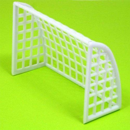Fußballtor für Tortendekoration der Fußballtorte, Kunststoff 10x7x4 cm