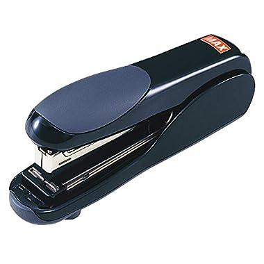 Max Flat-Clinch Black Standard Stapler with 30 Sheet Capacity (HD-50DFBK)
